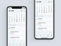 Layers App — Calendar