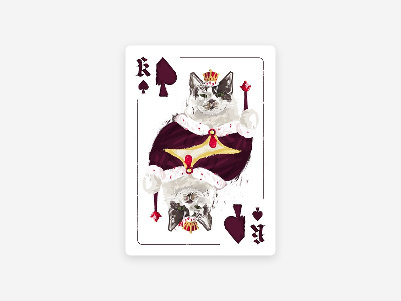 Playing Cards - King Tigger