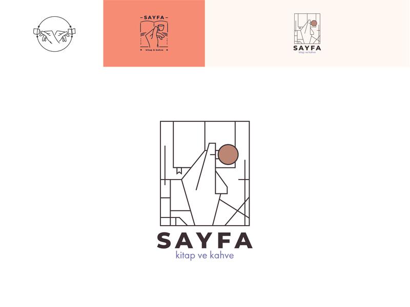 Sayfa Book & Coffee Logo