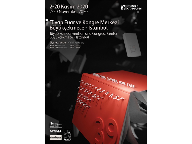 Poster Design for International Istanbul Book Fair 2020