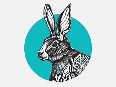 Rabbit illustrator illustration vectors rabbit logo