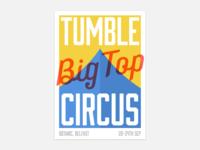 Tumble Circus Poster WIP