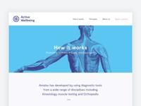 Active Wellbeing Website