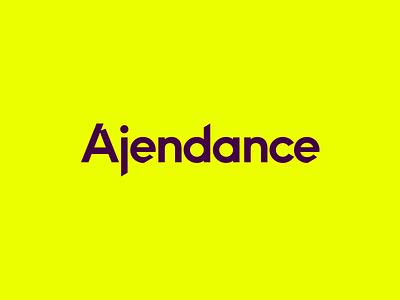 Ajendance Logo ginger type logo