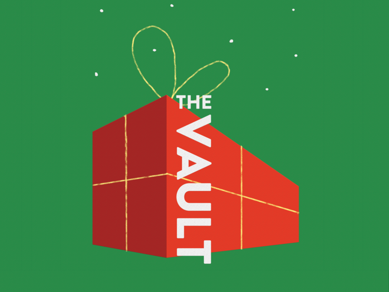 The Vault Christmas Arts Market Poster christmas