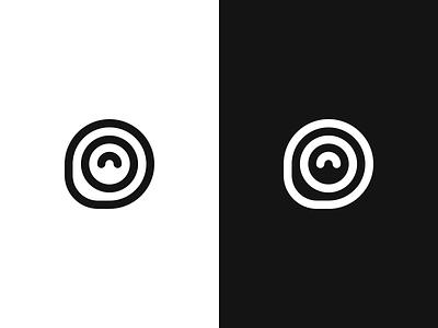 Logo Feedback monogram cirle logo
