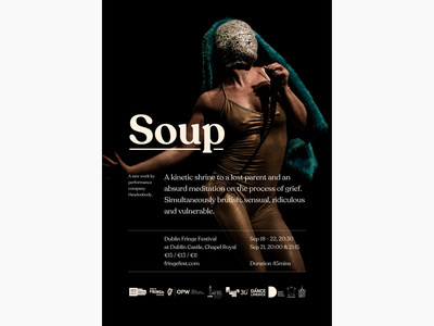 Poster: Soup poster type theatre