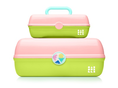 Caboodles - Pink & Lime Green