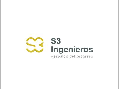 S3 Ingenieros Logo branding logo