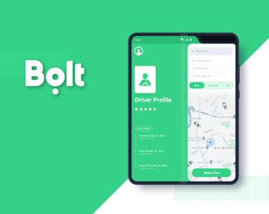 Bolt Taxify App for Galaxy Fold