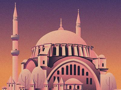 The Turk Mosque illustrator