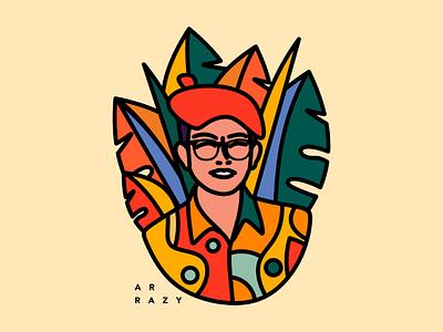 Tropical Illustration illustrtion graphic designer