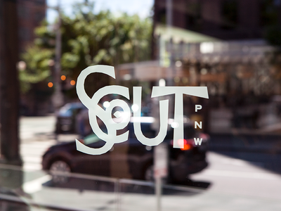 Scout downtown logo branding local chef fine dining food pnw pacific northwest seattle restaurant scout