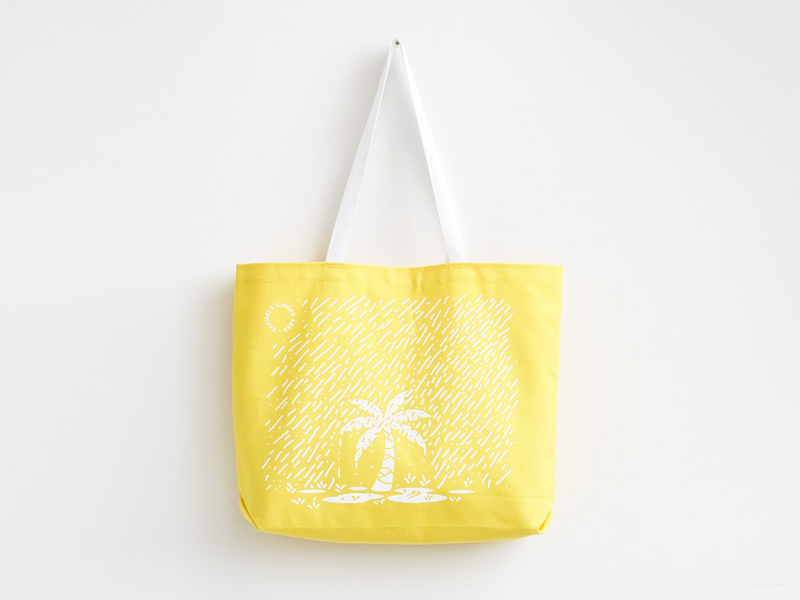 Partly Cloudy sun tropical rain seattle tote