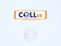 Caller LOGO for Automated Calling System design web logo design logodesign logo