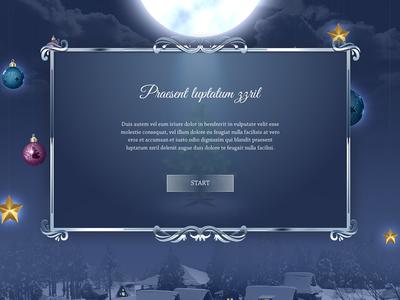 Game intro screen