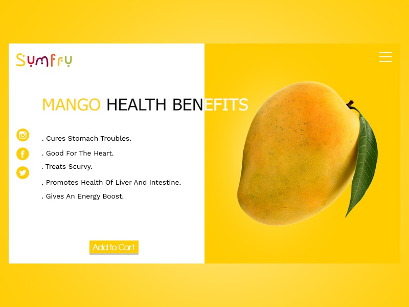 Mango concept design typography webdesign illustration web uidesign branding