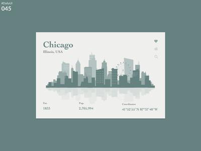 DailyUI 045 - Info card
