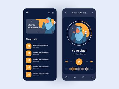 Islamic Instrumental Apps meditation music app islamic