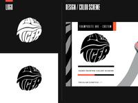 Layout art branding design identity typography logo