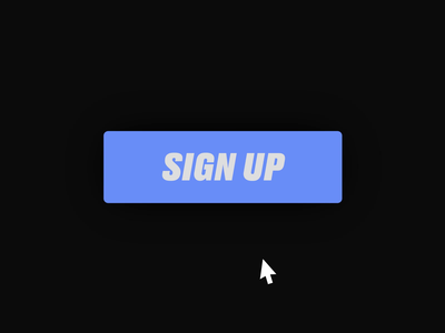 3D Button Interaction uiux interaction animation hover button micro interaction