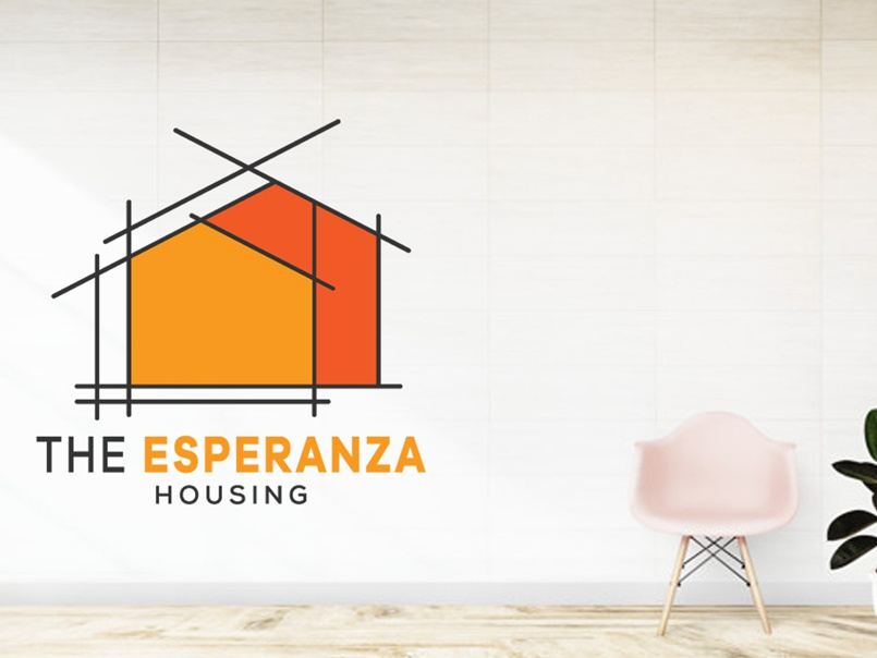 Housing logo design household realestate buildinglogo contruction minimalist logo house logo minimal house