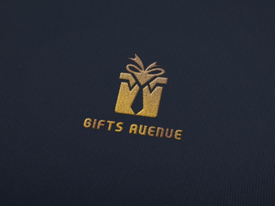 Gifts Avenue logo design tie giftbox giftlogo mens fashion brand logo minimal logo minimal letter logo flatlogo abstatct logo minimalist logo logo design logo