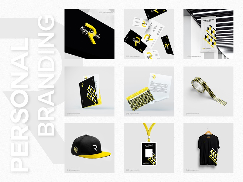 Personal Identity clean logo identity design lettering graphicdesgn branding visual identity id card identitiy letterhead mockup design business card logodesign brandidentity