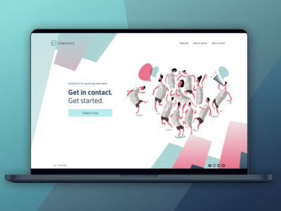 Daily UI: Day 3 Landing Page