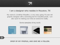 Dribbble Player Cards *Rebound Me*