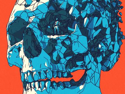 Meridian skeleton break cinema 4d c4d meridian shatter bones skull