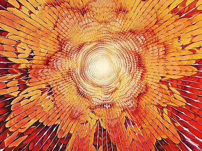 Canopy leaves burst 3d cinema4d c4d canopy