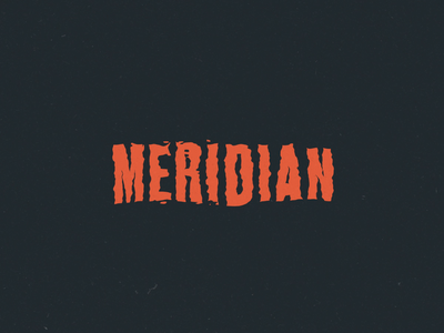 Meridian Title Loop water skull animation loop typography type 3d cinema 4d c4d