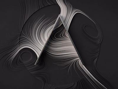 """A"" Logo Reveal motion design motion logo animations 3d cinema 4d c4d"