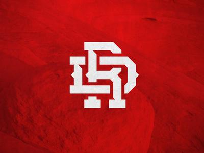 Red Devils Lettermark Concept