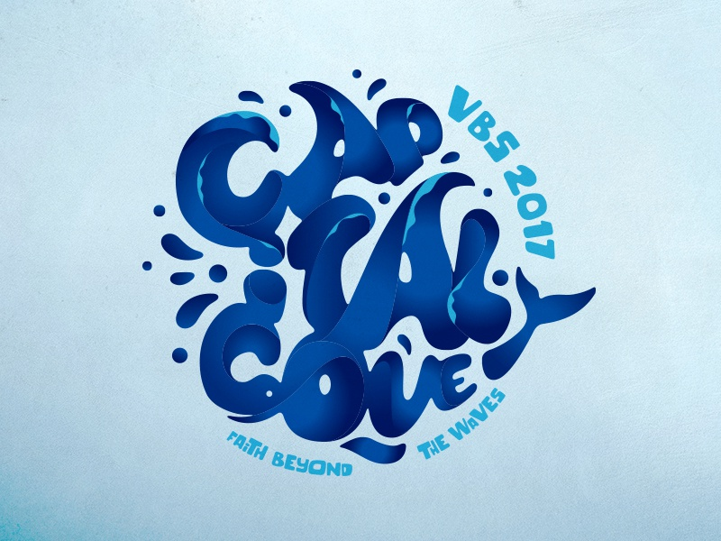 Capital Cove, VBS 2017 Logo jesus ministry kids church capital church vbs