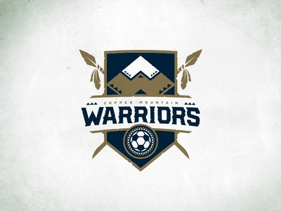 Copper Mountain Warriors SC Shield