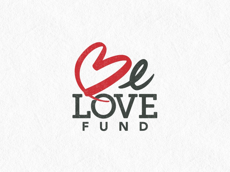 BeLOVE Fund Logo lettering missions outreach fundraising logo logo design