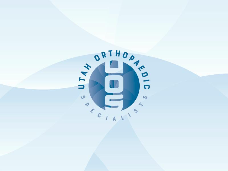 Utah Orthopaedic Specialists design identity branding logo design orthopaedic orthopedic doctor medical builder logo
