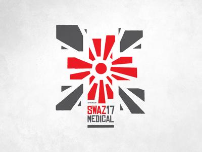 Swazi17 Medical Mission Team Logo illustration logo design africa swaziland mission medical design logo