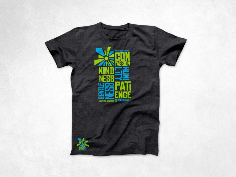 2017 Capital Swazi Tee sun mission logo layout typography tee shirt shirt design apparel