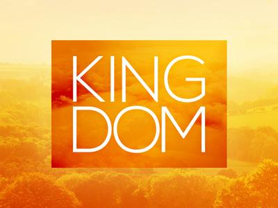 Kingdom crown glory earth lord king orange yellow bright light reign