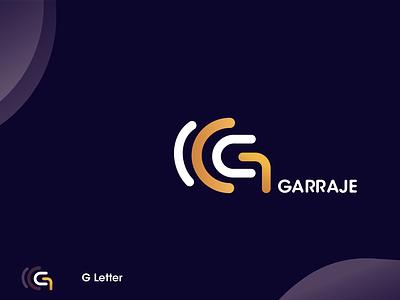 Garraje logo desine app icon turkey letter libya design logo branding