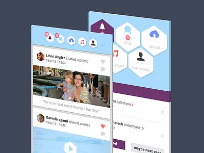 UX/iOS/UI iPhone idea menu micro copy friendly colorfull icons israel daniela design iphone ui ux ios