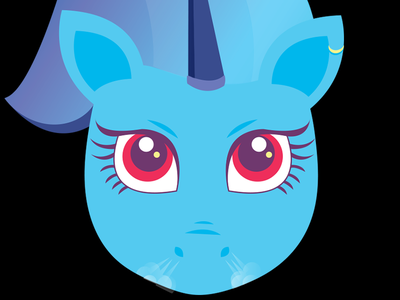 Angry Unicorn- but still fabulous red angry anime israel daniela colors icon emotion unicorn