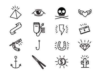 Fun to draw icons