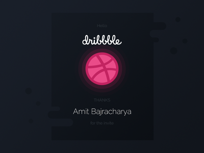 Hello Dribbble kathmandu dribbble debut