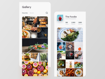 Photo Sharing App Concept