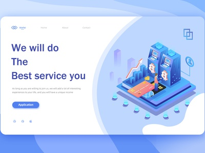 Home page service