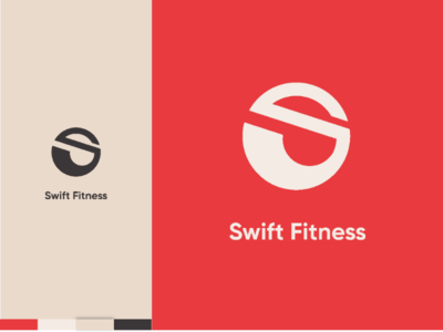 Swift Fitness (Gym) logo design